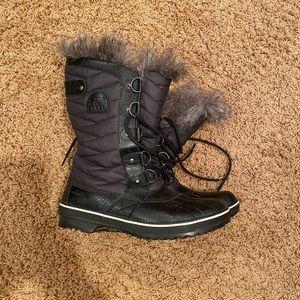 Black Sorel Boots size 9